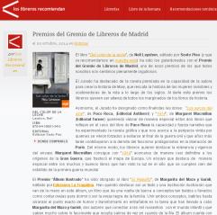 Premios Libreros